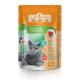 «CLUB 4 PAWS» полнорационный консервированный корм для взрослых кошек «с курицей в деликатном соусе»