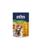 «CLUB 4 PAWS» полнорационный консервированный корм для взрослых собак малых пород 100 гр.