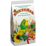 Корм Коктейль «Луговые травы + семена льна» Для волнистых попугаев 0,5 кг