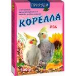 Корм Природа «Корелла + йод» Для средних попугаев 0,5 кг