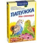 Корм Природа «Папужка йод + эхинацея» Для волнистых попугаев 0,575 кг