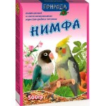 Корм Природа «Нимфа» Для средних попугаев 0,5 кг