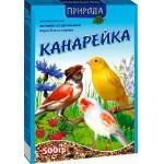 Корм Природа «Канарейка» Для канареек, амадин и птиц семейства ткачиковые 0,5 кг