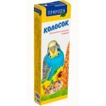 Природа колосок «Медовый» Корм и лакомства для волнистых попугаев  0,14 кг