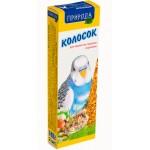 Природа колосок «Ореховый» Корм и лакомства для волнистых попугаев  0,14 кг