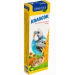 Природа колосок «Бисквит» Корм и лакомства для волнистых попугаев  0,14 кг