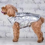 Жилет для собак Серебро 925 на микролофте (мальчик)