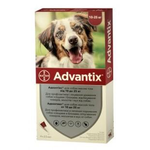Адвантикс 10-25 кг, 2,5 мл,