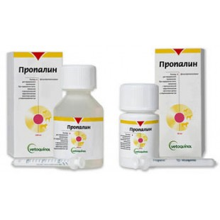 Пропалин (Propalin), при недержании мочи у собак 100 мл