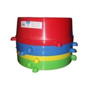 Миска пластиковая Природа «Классик» №4, 2 л (цвета в ассортименте)